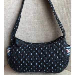 Vera Bradley Alpine Black Hobo Handbag